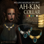 Empyrean Forge_ Ah-Kin Collar Silver - WLRP April