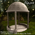 Fiasco - Marble Gazebo AD