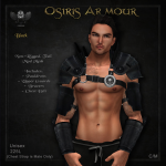 Forge Osiris Armour Black