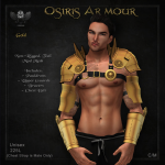 Forge Osiris Armour Gold