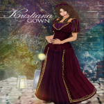 Krystal _ The Crystal Clothing Co.  -  Kristiana Poster