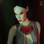 (Kunglers) Sile necklace AD