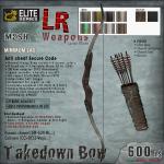 LR Takedown Bow