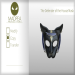 MadPea The Defender of the House Mask