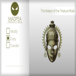 MadPea The Keeper of the Treasure Mask