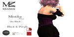 Miamai_MistikaDress the Black_BlackPurple AD alt