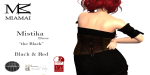 Miamai_MistikaDress the Black_BlackRed AD alt
