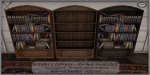 ~_S.E._~ Scholar's Library - Arched Bookshelves Pic