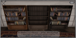 ~_S.E._~ Scholar's Library - Flat Bookshelves Pic