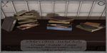 ~_S.E._~ Scholar's Library - Stacked Books Pic