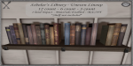 ~_S.E._~ Scholar's Library - Uneven Line of Books Pic