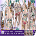 ~silentsparrow~ Hawks Tattoo Set @ We _3 RP