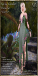 Spring Coronet Gown Set-Green_Promotional Art