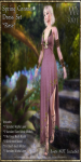 Spring Coronet Gown Set-Rose_Promotional Art