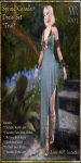 Spring Coronet Gown Set-Teal_Promotional Art