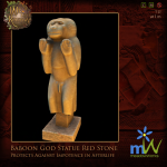 WLRP-Apr meadowWorks Baboon God