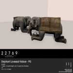22769 ~ [bauwerk] Elephant Loveseat Nature - PG [ad]