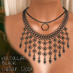 Cellar Door Mia Collar Black Add