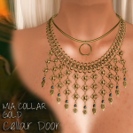 Cellar Door Mia Collar Gold Add