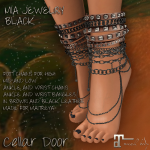 Cellar Door Mia Jewelry Black Add