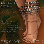 Cellar Door Mia Jewelry Bronze Add