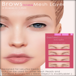DeeTaleZ Brows Mesh Layer