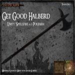(FA) Get Good Halberd Ad
