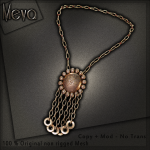 Meva Estelle Necklace Gold Vendor