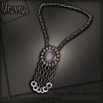 Meva Estelle Necklace Silver Vendor