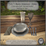 ~_S.E._~ Rustic Stoneware Dishes Pic (10L item)