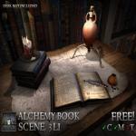 Stormwood Alchemy Book Scene