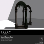 22769 ~ [bauwerk] Secret Garden Gate [ad]