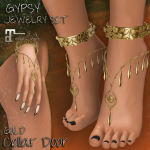 CELLAR DOOR GYPSY JEWELRY SET GOLD