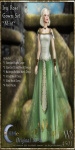 Ivy Rose Gown Set-Mint_Promotional Art