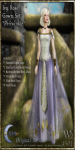 Ivy Rose Gown Set-Periwinkle_Promotional Art