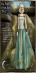 Ivy Rose Gown Set-Teal_Promotional Art