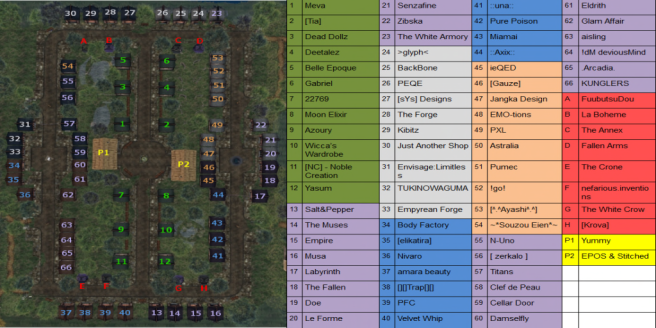 We _3 Roleplay - Map for June
