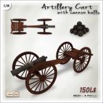 AD [V_W]  Artillery Cart