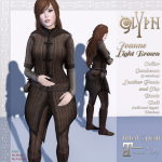 _glYph_ Jeanne Light brown Add