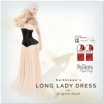 Kaithleen's Long Lady Dress Poster SL