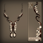 (Kunglers) Tita necklace copper AD