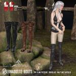 UPDATE lassitude bernadotte boots teaser updated