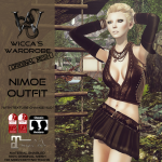 Wicca's Wardrobe - Nimue Outfit - We_3RP July 2016